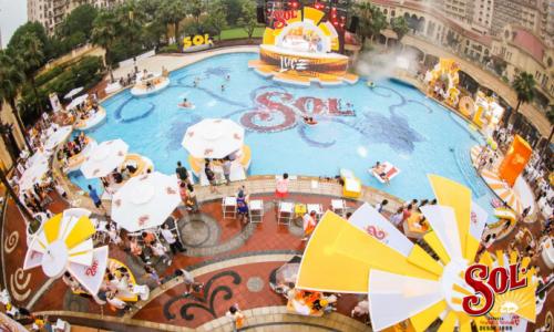 致敬夏日,尽享阳光,SOL®阳光泳池派对精彩呈现