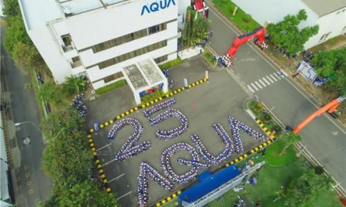 在越南:海尔智家旗下AQUA跃居TOP3, Q1又迎34%增长!